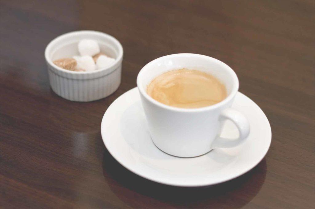角砂糖とコーヒーで疲労回復
